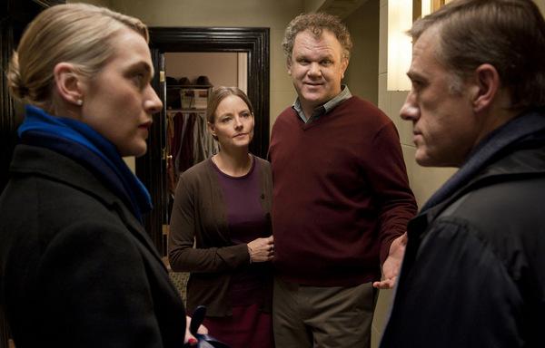 Kate Winslet, J. Foster, J.C. Reilly und C.Waltz in 'Der Gott des Gemetzels' © Constantin Film 2011