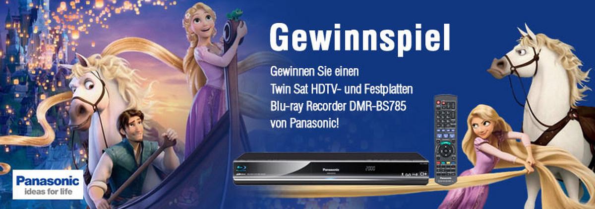 Panasonic Gewinnspiel: Twin Sat HDTV- und Festplatten Blu-ray Recorder