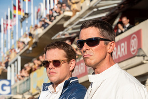 Matt Damon und Christian Bale in 'Le Mans 66' © 20th Century Fox