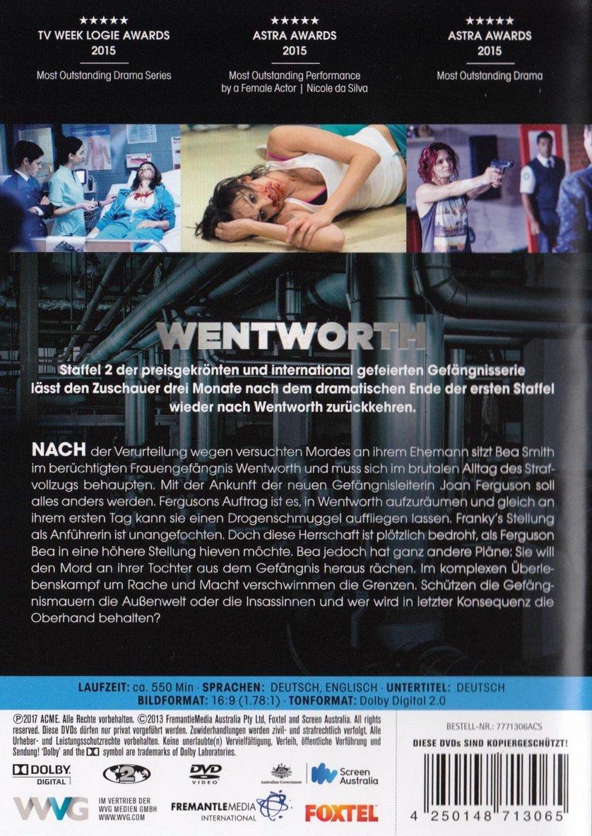 Wentworth Staffel 2 Dvd Oder Blu Ray Leihen Videobusterde