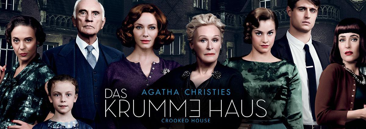 Agatha Christie Film-Special: Das neue krumme Haus von Agatha Christie