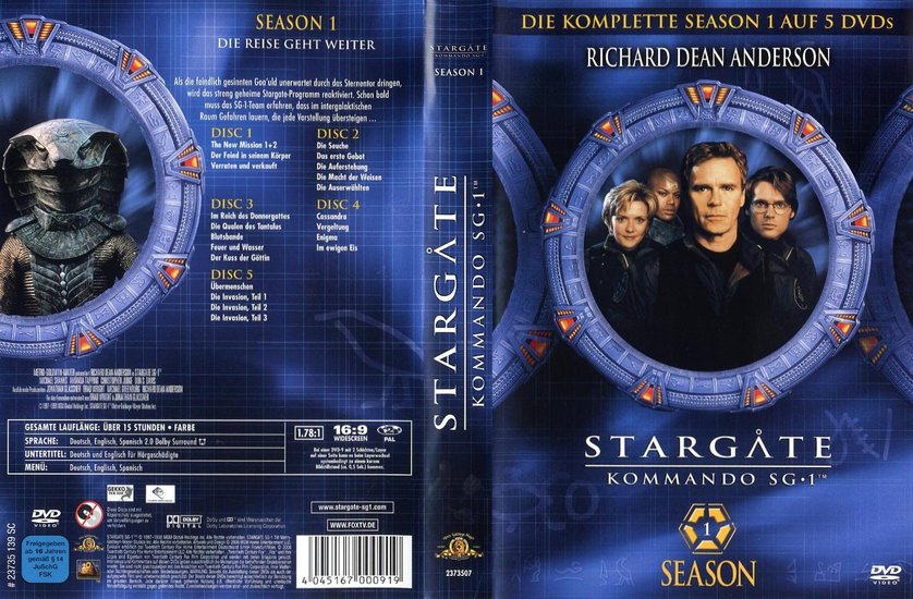 Stargate – Kommando Sg-1 Besetzung