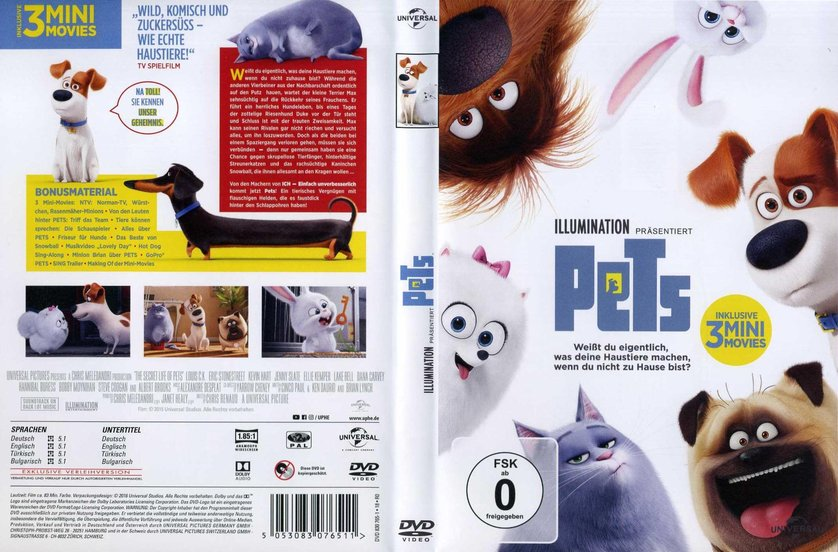 pets dvd oder blu ray leihen. Black Bedroom Furniture Sets. Home Design Ideas