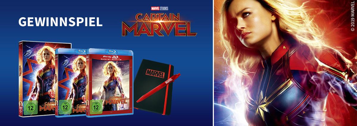 Gewinnspiel CAPTAIN MARVEL: Wir verschenken Captain Marvel Fanpakete!