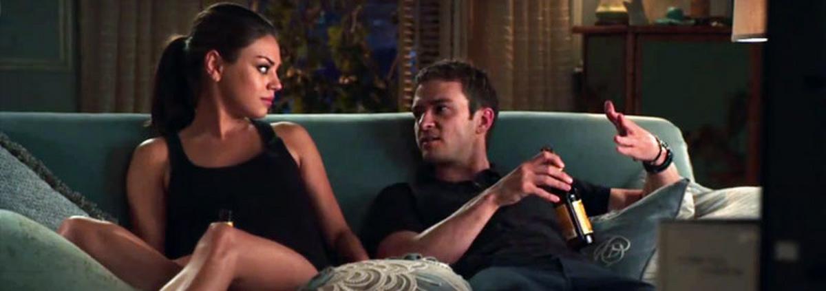 Friends with Benefits: Mila Kunis: Sex sei ihr dank Timberlake sehr leichtgefallen