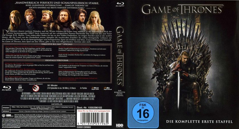 game of throns staffel 1