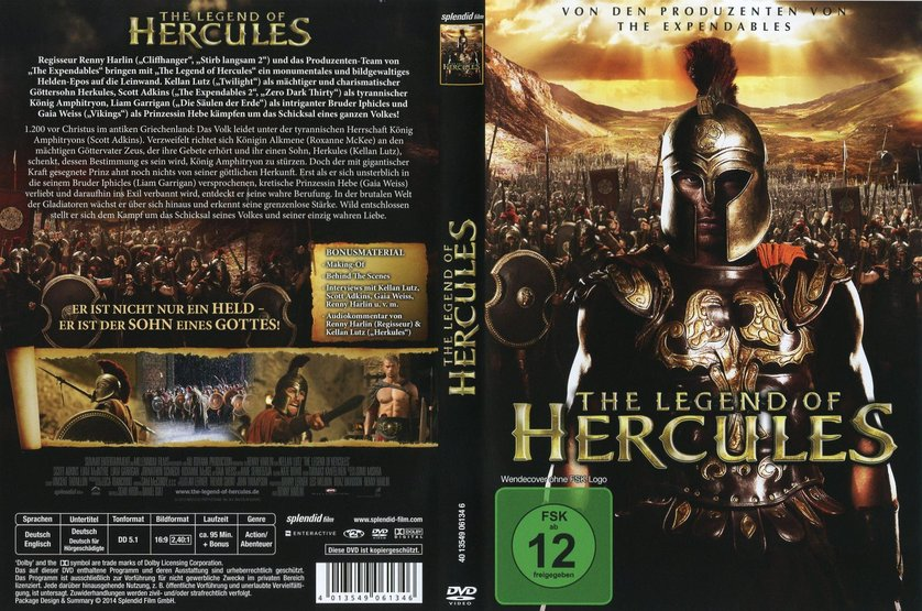 The gallery for --> The Legend Of Hercules Dvd Cover