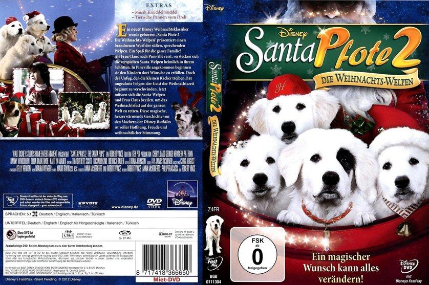 santa pfote 2 die weihnachts welpen dvd oder blu ray. Black Bedroom Furniture Sets. Home Design Ideas