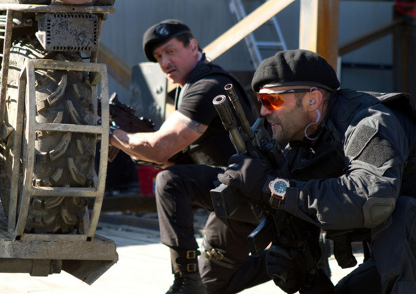 Stallone und Statham in 'The Expendables 2' © Splendid 2012