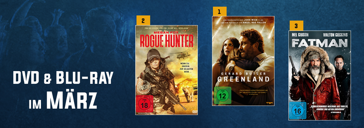 DVD & Blu-ray Charts 03-2021: Die beliebtesten Filme im März? Unsere Verleih Top 10!
