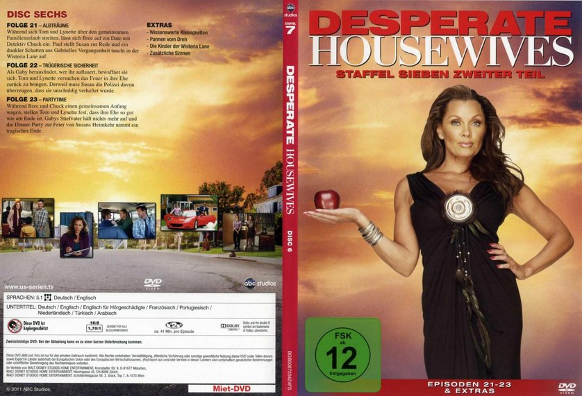 desperate housewives staffel 7 dvd oder blu ray leihen. Black Bedroom Furniture Sets. Home Design Ideas