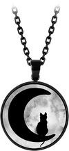 Mysterium® Moonlight Cat powered by EMP (Halskette)