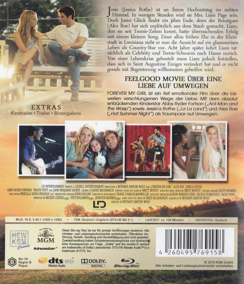 Forever My Girl Trailer Deutsch