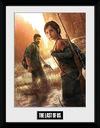 The Last Of Us Key Art powered by EMP (Gerahmtes Bild)