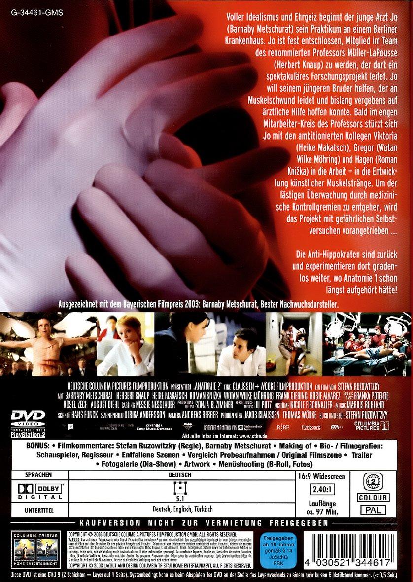 Anatomie 2: DVD oder Blu-ray leihen - VIDEOBUSTER.de