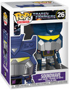 Transformers Soundwave Vinyl Figur 26 powered by EMP (Funko Pop!)