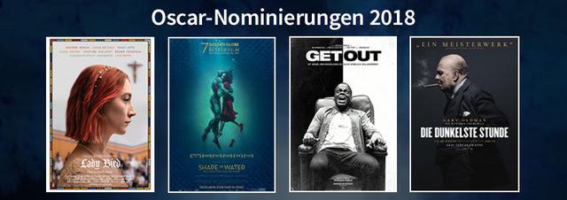 Oscar-Nominierungen 2018: Die Nominierten der Oscars 2018: Diese Filme sind dabei!