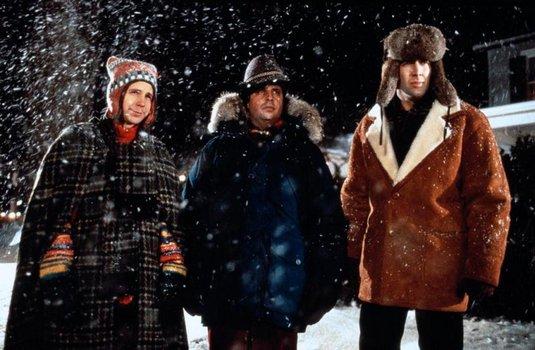 Schneesturm im Paradies