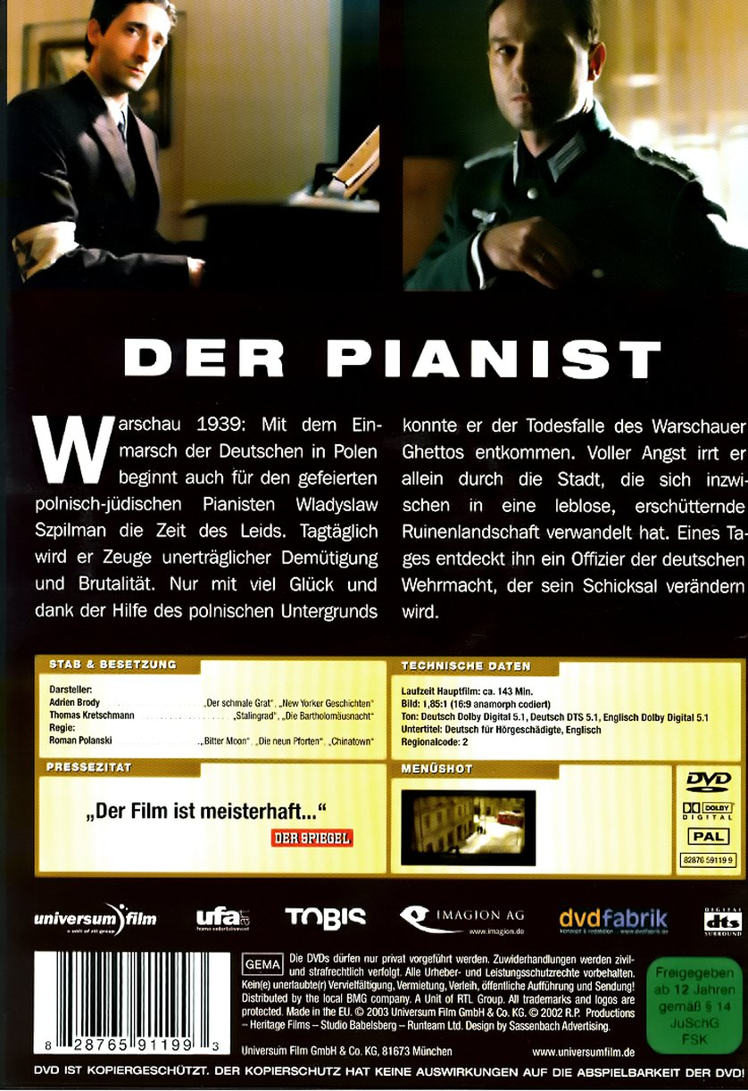 Der Pianist Stream Deutsch