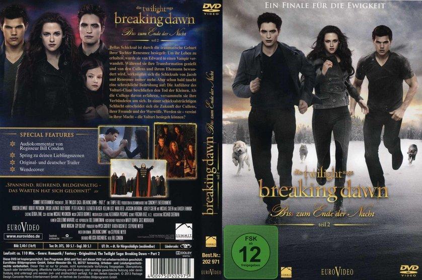 Breaking Dawn Biss Zum Ende Der Nacht Teil 2 Dvd Blu Ray Oder