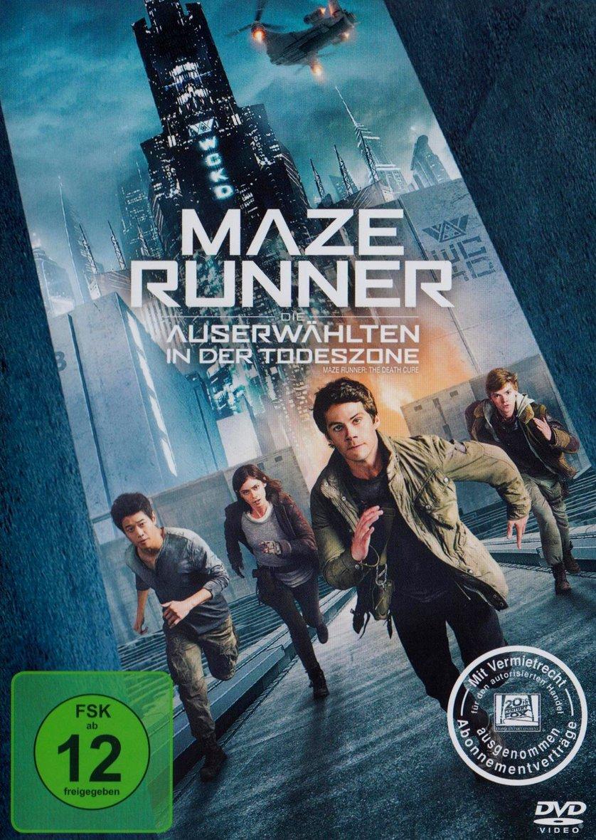 Maze Runner 20   Die Auserwählten in der Todeszone DVD oder Blu ...