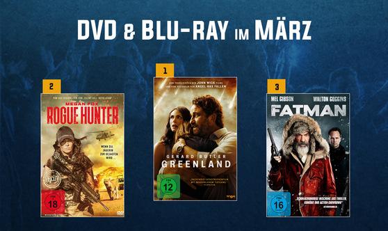 Die beliebtesten Filme im März? Unsere Verleih Top 10!