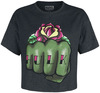 Marvel's The Avengers Hulk Fist Floral powered by EMP (T-Shirt)