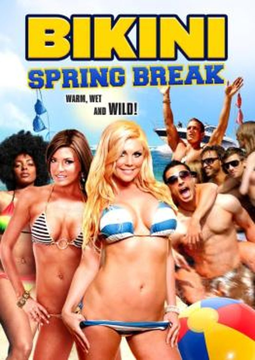 Bikini-Wettbewerb Spring Break The flash