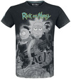 Rick And Morty Rick and Morty Movie powered by EMP (T-Shirt)