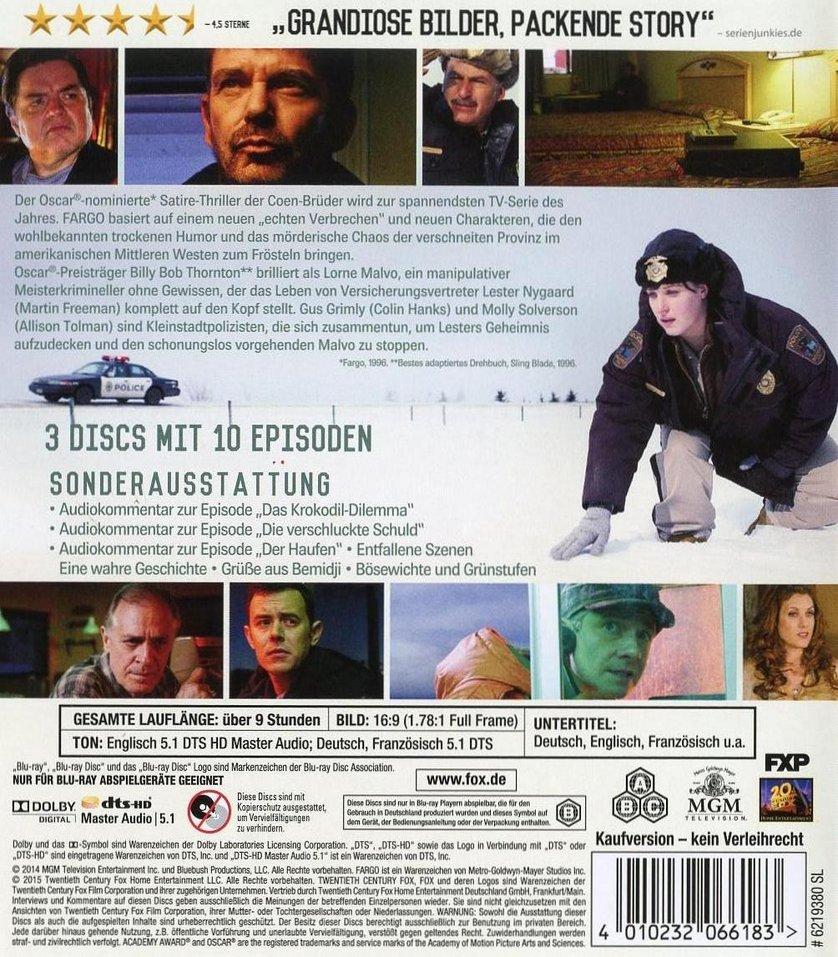 Fargo Staffel 1 Dvd Oder Blu Ray Leihen Videobusterde