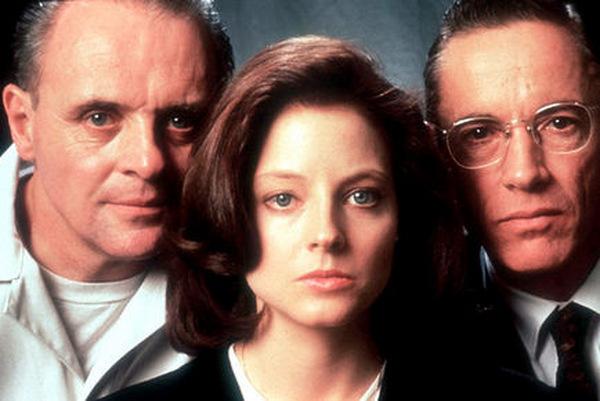 Anthony Hopkins, Jodie Foster und Scott Glenn in 'Das Schweigen der Lämmer' © MGM 1990