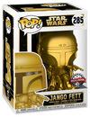Star Wars Jango Fett (Gold Metallic) Vinyl Figur 285 powered by EMP (Funko Pop!)
