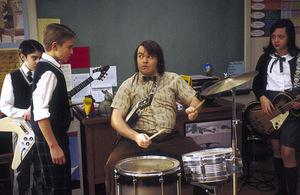 Black in 'School of Rock' © Paramount 2003