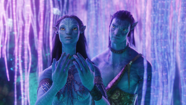 Zoe Saldana und Sam Worthington in 'Avatar' © Fox