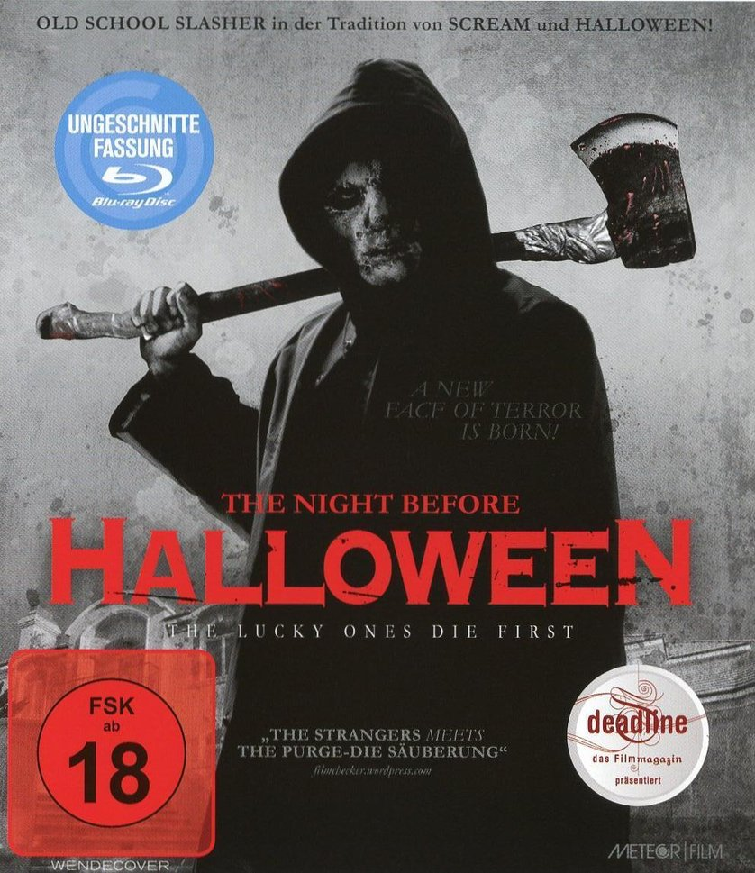 The Night Before Halloween: DVD oder Blu-ray leihen - VIDEOBUSTER.de