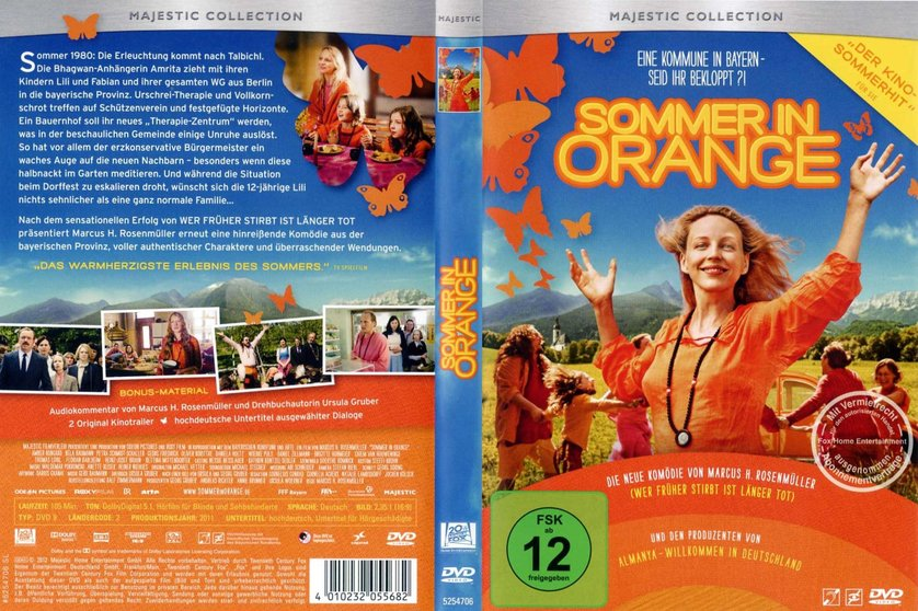 sommer in orange stream