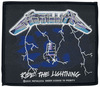 Metallica Ride The Lightning Patch schwarz blau weiß powered by EMP (Patch)
