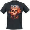 Sixx: A.M. Halloween Skull Clouds powered by EMP (T-Shirt)