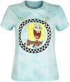 Vans Vans x Spongebob Jump Out Crew T-Shirt weiß blau powered by EMP (T-Shirt)