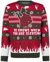 A Nightmare on Elm Street Freddy powered by EMP (Weihnachtspullover)