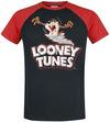 Looney Tunes Tornado Taz T-Shirt schwarz rot powered by EMP (T-Shirt)