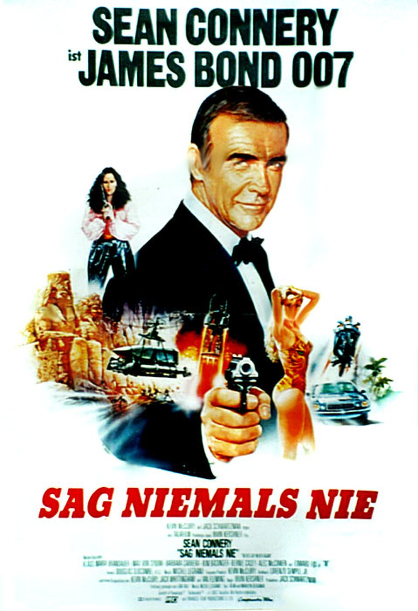 james bond sag niemals nie