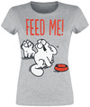 Simon's Cat Feed Me powered by EMP (T-Shirt)