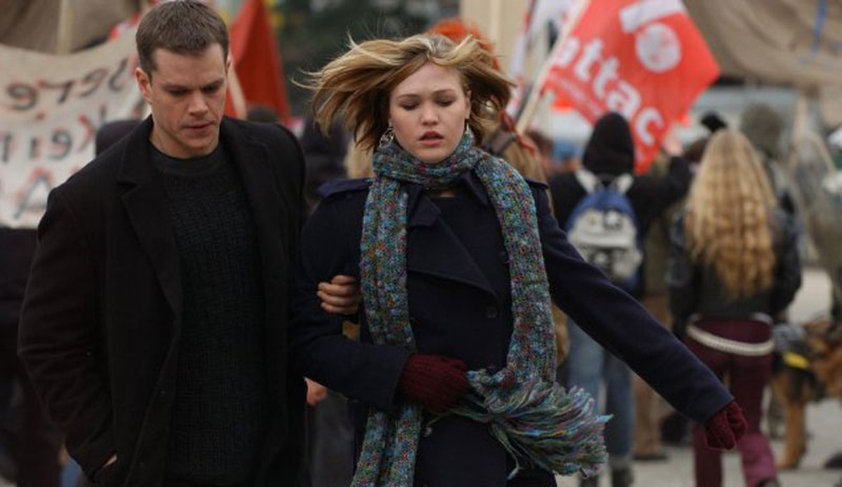 Matt Damon und Julia Stiles © Universal 2004