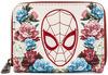Spider-Man Loungefly - Spider-Man Floral powered by EMP (Geldbörse)