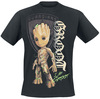 Guardians Of The Galaxy 2 - Groot Shield powered by EMP (T-Shirt)
