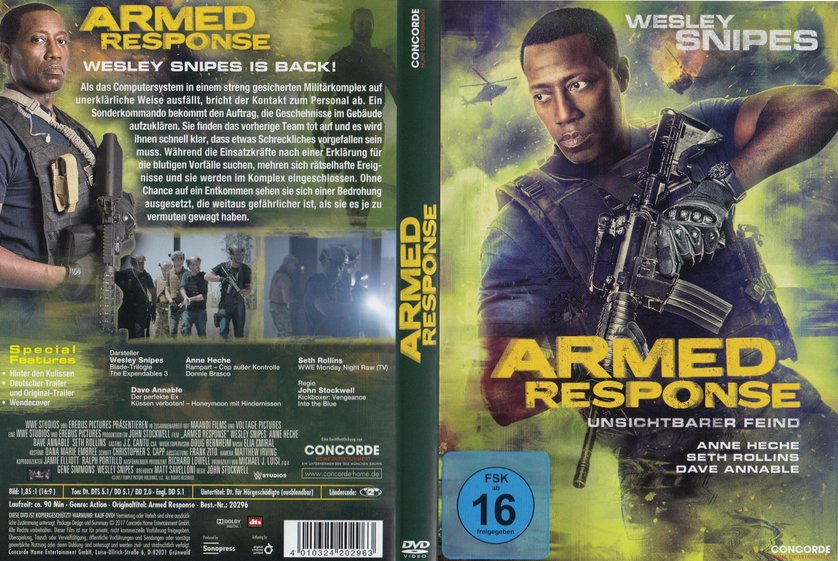 armed response full movie 2017