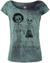 Outer Vision Skeleton Lovers powered by EMP (T-Shirt)