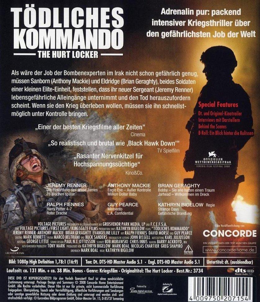 Tödliches Kommando - The Hurt Locker Stream