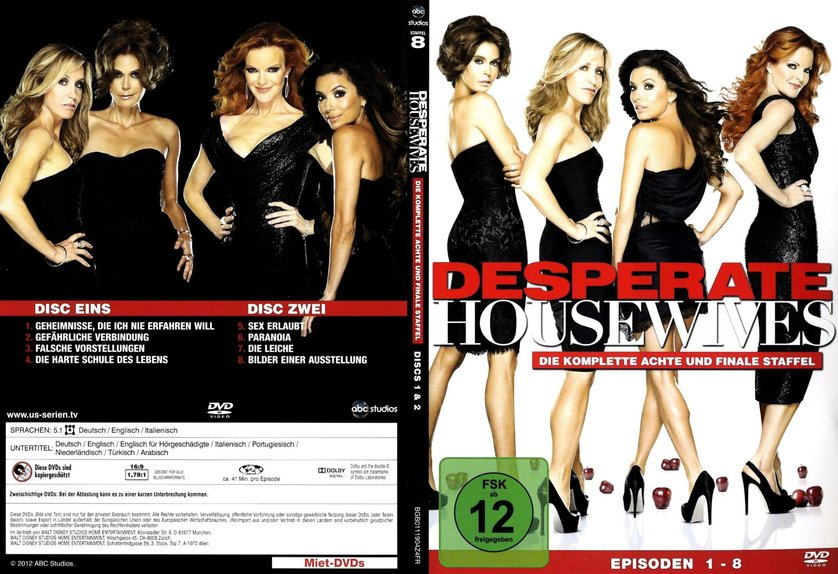 desperate housewives staffel 8 dvd oder blu ray leihen. Black Bedroom Furniture Sets. Home Design Ideas